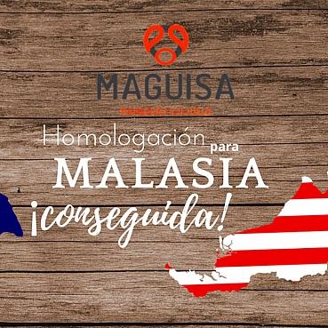 MAGUISA ha conseguido la homologación para exportar a Malasia