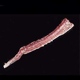 Eingefrorener Back Bone vom iberischen Schwein