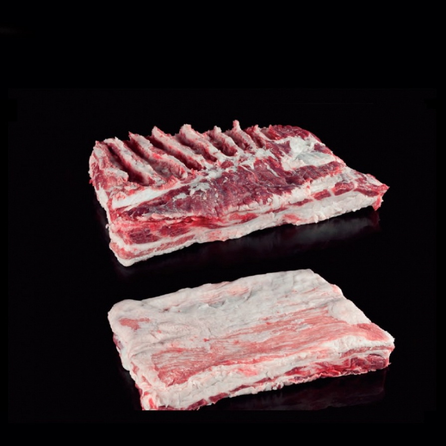 Fresh Iberian Pork Belly Single Ribbed