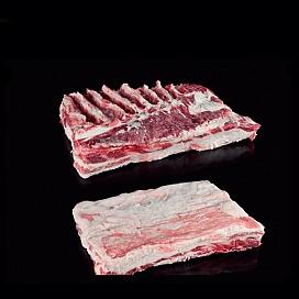 신선한 이베리아 돼지 삼겹살 갈비뼈