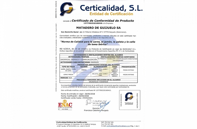 Certicalidad S.L.