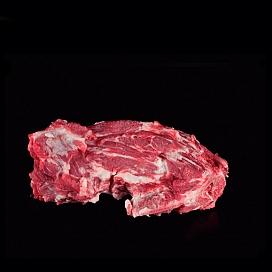 신선한 이베리아 돼지 목뼈