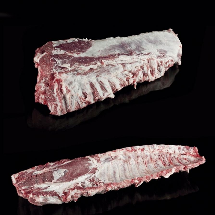 Fresh Iberian Pork Short Bone-In Loin
