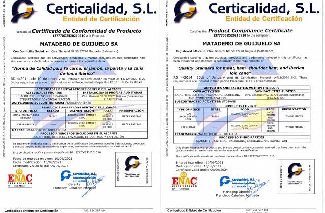 Certificado SAE